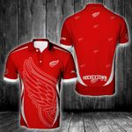 NHL Detroit Red Wings Polo Unisex Size 3D All Over Printed - PLUSA72