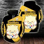 NFL Pittsburgh Steelers Pokemon Hoodie/Zip Hoodie/Tshirt Design 3D Full Printed Hot Trending 2021 - PK9203