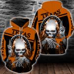 NCAA Texas Longhorns Skull Hoodie/Zip Hoodie/Tshirt Design 3D Full Printed Sizes S - 5XL SK9501