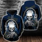 NCAA Notre Dame Fighting Irish Skull Hoodie/Zip Hoodie/Tshirt Design 3D Full Printed Sizes S - 5XL SK9507