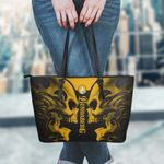 Bundaberg Brewed Drinks Skull Leather Tote Bag and Wallet Set B97013