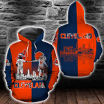 Cleveland Guardians and Cleveland Browns Hoodie/Zip Hoodie/Tshirt Design 3D Full Printed Sizes S - 5XL NF91001