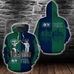 New York Yankees and New York Jets Hoodie/Zip Hoodie/Tshirt Design 3D Full Printed Sizes S - 5XL NF9193