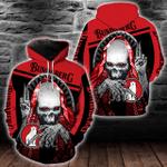 Bundaberg Brewed Drinks Red Skull Hoodie/Zip Hoodie/Tshirt Design 3D Full Printed Sizes S - 5XL B91101