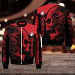 Bundaberg Brewed Drinks Red Skull Bomber Jacket Sizes S - 5XL B91107