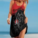 Bundaberg Brewed Drinks Red Skull Summer Beach Dress Sizes S - 5XL B91108