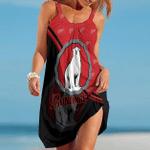Bundaberg Brewed Drinks Red Summer Beach Dress Sizes S - 5XL B91110