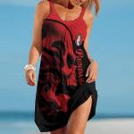 Bundaberg Brewed Drinks Red Skull Summer Beach Dress Sizes S - 5XL B91111