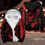 Bundaberg Brewed Drinks Red Skull Fleece Hoodie Design 3D Full Printed Sizes S - 5XL  B91123
