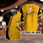 Bundaberg Brewed Drinks Button Shirt Design 3D Full Printed Custom Name Sizes S - 5XL B91701