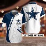 NFL Dallas Cowboys Button Shirt Design 3D Full Printed Custom Name Sizes S - 5XL N91702