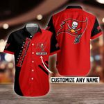 NFL Tampa Bay Buccaneers Button Shirt Design 3D Full Printed Custom Name Sizes S - 5XL N91706