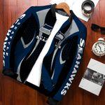 NFL Seattle Seahawks Bomber Jacket Design 3D Full Printed Sizes S - 5XL N91750