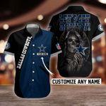 NFL Dallas Cowboys Button Shirt Design 3D Full Printed Custom Name Sizes S - 5XL N91815