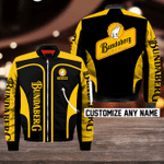 Bundaberg Brewed Drinks Bomber Jacket Design 3D Full Printed Custom Name Sizes S - 5XL B92702
