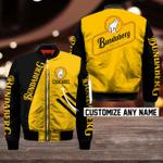 Bundaberg Brewed Drinks Bomber Jacket Design 3D Full Printed Custom Name Sizes S - 5XL B92704