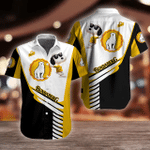 Bundaberg Brewed Drinks Snoopy Button Shirt Design 3D Full Printed Sizes S - 5XL B92707