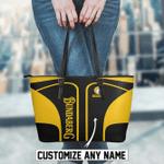 Bundaberg Brewed Drinks Leather Tote Bag and Wallet Set Custom Name B92714
