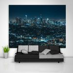 City Night Wall Hanging Tapestry Psychedelic Bedroom Home Decor