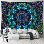 Colourful Kaleidoscope Tapestry Hippie Tasteful Design For Bedroom Home Decor