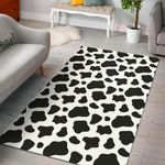 Cow Skin Pattern Area Rug Bold Patterns Tasteful Style Home Decor