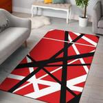Van Halen Stripes Pattern 3d Printed Area Rug Carpet Home Decor