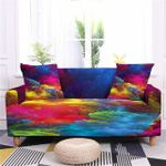Beautiful Colorful Clouds Art Pattern Home Decoration For Living Room Sofa Cover