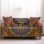 Mandala Flower Pattern Home Decoration For Living Room Sofa Cover