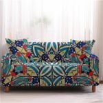 Bohemian Flower Pattern Home Decoration For Living Room Sofa Cover