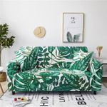 Tropical Green Monstera Pattern Home Decoration For Living Room Sofa Cover