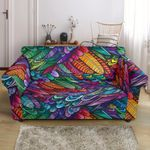 Deather Multicolor Design Style Pattern Sofa Cover