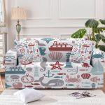 The Ocean World Cute Pattern Sofa Cover