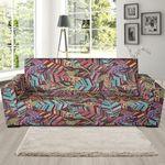Bohemian Boho Pattern Background Sofa Cover