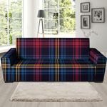 Tartan Background Seamless Sofa Cover