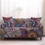 Bohemian Mandala Butterfly And Square Pattern Lovely Design Sofa Cover