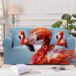 Queen Of Pink Light Blue Theme Sofa Cover