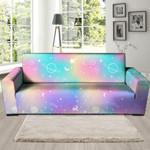 Beauty Holographic Festival Sofa Cover