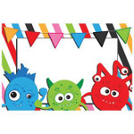 Colorful Monster Party Happy Birthday Printed Placemat Table Mat
