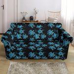 Tribal Turtle Polynesian Pattern Sofa Cover