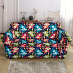 Multi Monkey Different Colorful Cute Pattern Sofa Cover