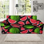 Watermelon Piece Black Pattern Sofa Cover