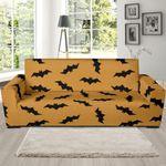 Bat Halloween Illustration Sofa Cover