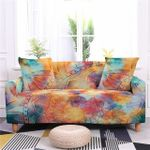 Bohemian Giant Flower Texture Splendid Design Sofa Cover