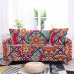 Impressive Style Mandala Floral Pattern Sofa Cover