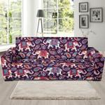 Paisleys Elephant Theme Sofa Cover