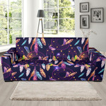 Feather Dream Catcher Vintage Sofa Cover