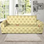 Teddy Bear Pattern Sofa Cover