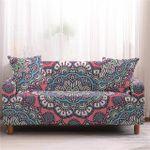 Mandala Elastic Pattern Complicate Design Sofa Cover