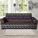 Ethic Aztec Geometric Art Pattern Print Sofa Cover