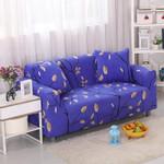 Branch Tree Pattern Blue Theme Sofa Cover